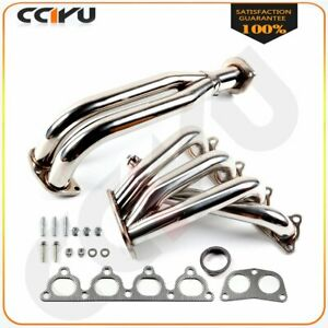 Stainless Exhaust Manifold Header For 88 00 Honda Civic D series Ej eg eh ek D15