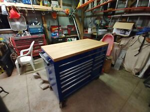 Matco Tool Box With Tools