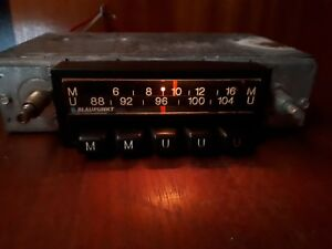 Vintage Blaupunkt Munster Arimat Classic Car Radio Oldtimer Made In Germany