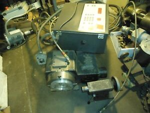 Smw Rt200 4th Axis Rotary Table Cnc Indexer 8 With Control Box And Tailstock