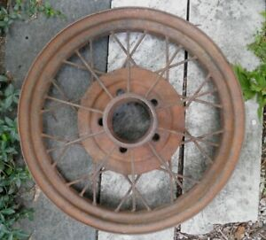 1930 31 Model A Ford 19 Wire Wheel