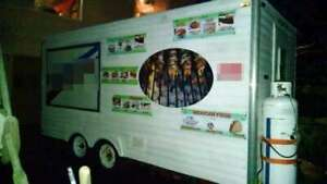 Ready To Operate 18 Food Concession Trailer Used Mobile Kitchen Unit For Sale