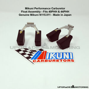 Mikuni 40phh 44phh Carb Float Assembly X2 N115 011 datsun240z 510 2000 S30 Solex