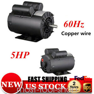 5hp Spl 3450 Rpm Air Compressor 60hz Single Phase Electric Motor 1 Protection Us