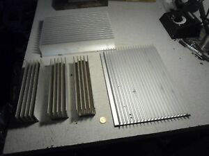 Aluminum Heatsink Heat Sink Cooling Fin Lot Of 5