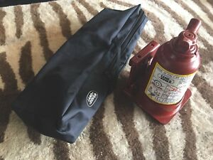 Land Rover 2 Stage Hydraulic Bottle Jack Discovery Range Rover Complete Set