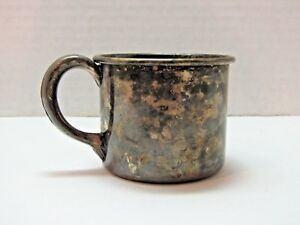 Vintage F B Rogers Silver Co 630 Silver Plated Baby Christening Cup