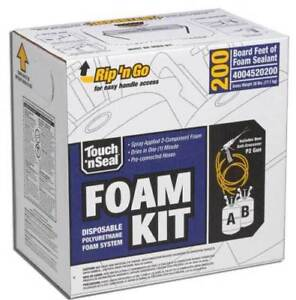 Touch n Seal U2 200 Spray Closed Cell Foam Insulation Kit 200bf Free Shipping