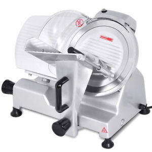 10 Blade Commercial Meat Slicer Deli Meat Cheese Food Slicer Industrial Quality