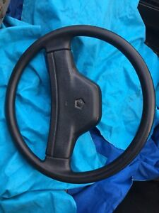 91 93 Dodge Dakota Steering Wheel Complete With Horn Button Pad Lid