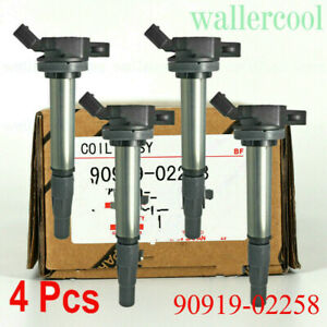 4pcs New 90919 02258 Ignition Coil For 2009 2015 Xd 1 8l Us Ship