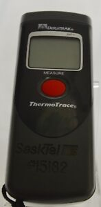 Deltatrak Thermotrace Laser Thermometer Excellent