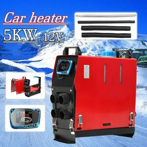 5000w Air Diesel Heater Lcd Monitor 5kw 12v For Trucks Motor homes Boats Bus Gf