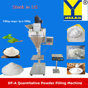 5 5000g Automatic Auger Filler Machine With Platform Scale For Powder Filling