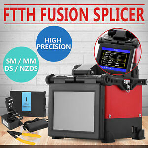 Ftth Fiber Optic Splicing Machine Fusion Kit Multipurpose Lcd Screen Stripper