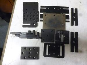 Lot Of 13 Newport thorlab other Brands Optical Table Components holders L904