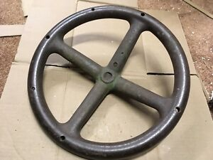 John Deere D Unstyled Antique Tractor Steering Wheel D61r Hit Miss Engine A B G