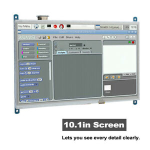 Full view Touching Screen 1024 600 Display Monitor Screen For Raspberry Pi