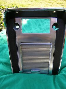 Ford Mustang 1967 Original Console Face Plate With Door