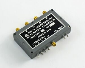 Daico Industries 100c1284d Rf Switch Sp4t 5v