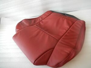 New Nos Oem 2004 2006 Pontiac Gto Rear Seat Cover Red 92146849