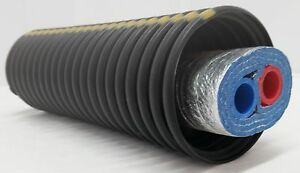 250 Feet Of Commercial Grade Ez Lay Triple Wrap Insulated 1 Nb Pex Tubing