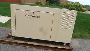 Generac Unused 45 Kw Ng 4cyl Liquid Cooled Automotive Engine Standby Generator
