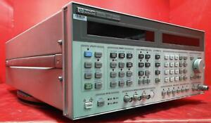 Hp 8664a High performance Signal Generator with Option 004 3 Ghz 3438a00715