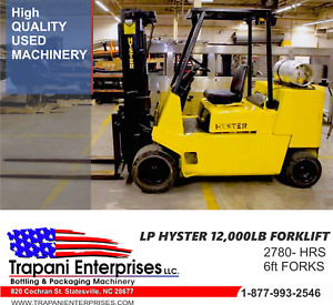 Hyster 12 000lb Forklift Yale Toyota Towmotor Rigger High Capacity Forklift