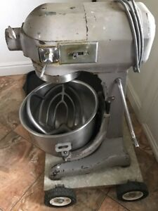 Hobart A 200 20 Qt Commercial Mixer W bowl Hook Paddle Works Good