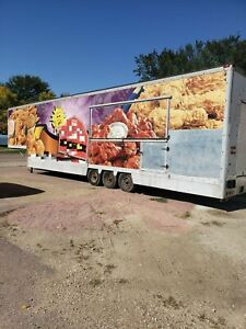 Two 8 6 X 44 Food Concession Trailers For Sale In South Dakota