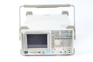 Advantest R3265a Portable Spectrum Analyzer 100hz To 8ghz