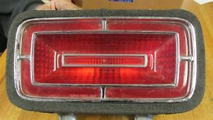 Nos 1970 Ford Galaxie Xl Ltd Custom 500 Rear Taillight Body Lens And Gasket Asby