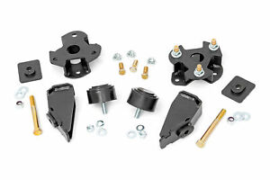 Rough Country 2 Leveling Kit fits 2012 2018 Dodge Ram 1500 4wd Bolt On Kit