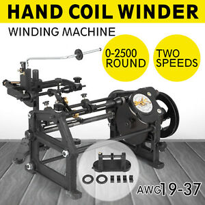 Hand Coil Winder Winding Machine 0 11 0 91 Wire Dia 1 1 5 Slow 110mm Coil Length