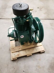 New Champion R15b 5 7 5 Hp 2 Stage Splash Lubricated Compressor Pump