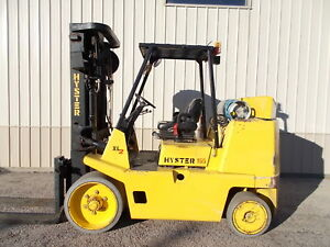 Hyster S155xl2 15 500 Forklift Cushion Tire Forklift Hilo Yale Towmotor Rigger