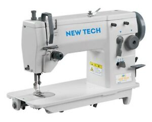 New Tech 20u83 Industrial Zigzag Sewing Machine Complete Set With Servo Motor