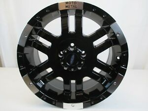 New Moto Metal Mo951 Gloss Black Wheel Rim Machined