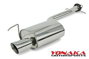 Yonaka Lexus Is300 01 05 2 5 Stainless Steel Axle Back Muffler Exhaust Quiet