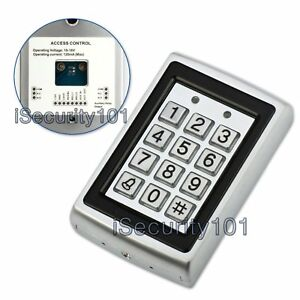 Rfid Reader 125khz Proximity Card Door Access Control Password Keypad Metal