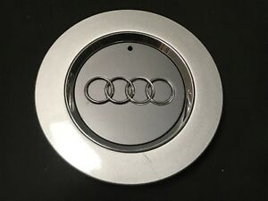 Audi Oem Wheel Center Cap Silver Gray Chrome 4b0 601 165 N