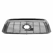 New 2010 2013 Toyota Tundra Limited Platinum Front Bumper Upper Grille
