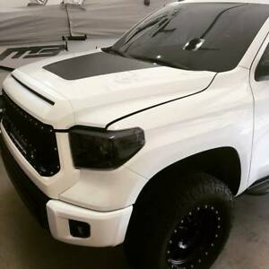 Matte Black Hood Decal Fit For Tundra 2014 2015 2016 2017 2018 New