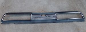 1967 1968 1969 Ford Thunderbird Reat Tail Panel Section W Trunk Lock Cover
