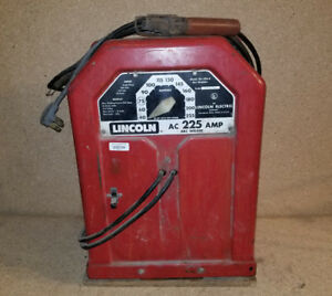 Lincoln 225 Amp Arc Welder Lincwelder Electric Ac Vintage Classic 3