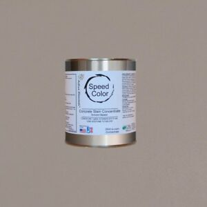 Fast Drying Concrete Paint 24oz Concentrate Yields 1 Gallon Stone Color