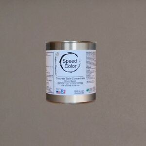 Fast Drying Concrete Paint Speed Color24oz Concentrate Yields 1 Galriver Rock
