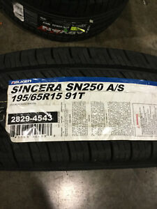 1 New 195 65 15 91t Falken Sincera Sn250 A S Tire
