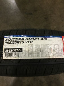 2 New 195 65 15 91h Falken Sincera Sn201 A S Tires